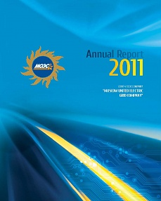 "Annual Report ""MOESK 2011"""