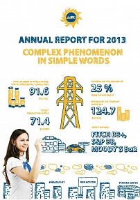 "Annual Report ""MOESK 2013"""